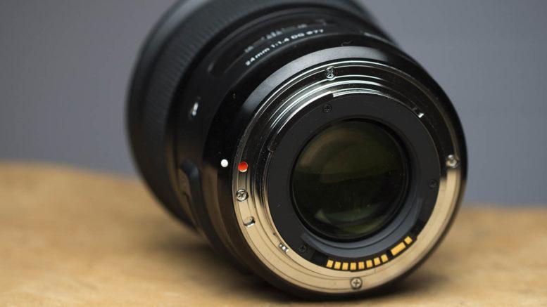 Sigma 24mm DG HSM ART Bajonett
