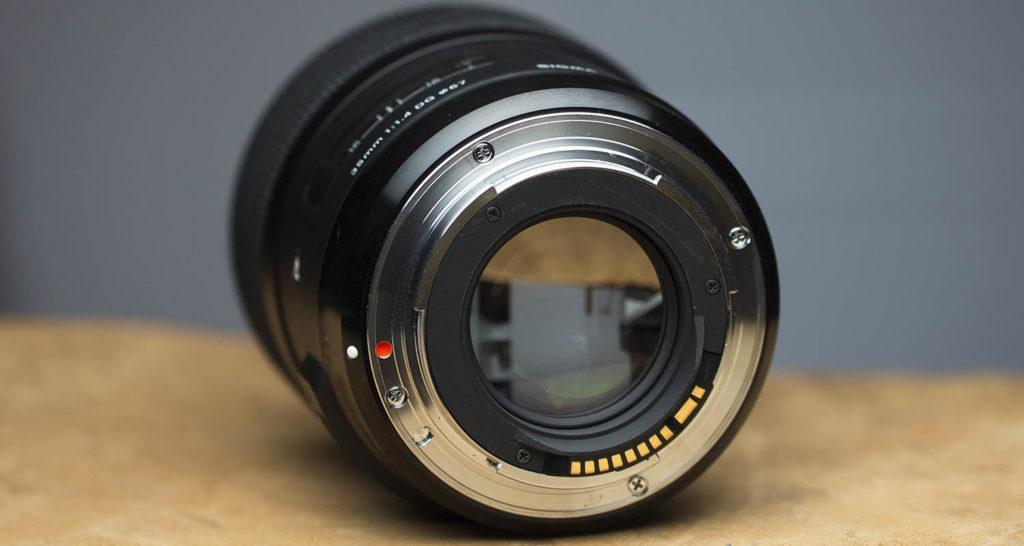 Sigma 35mm f/1.4 DG HSM Art Bajonett