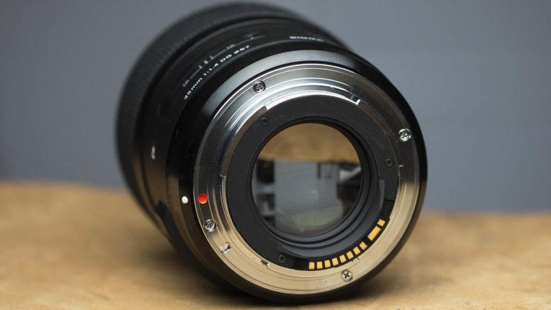 Sigma 35mm DG HSM ART Bajonett
