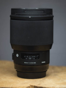 Sigma 85mm DG HSM ART