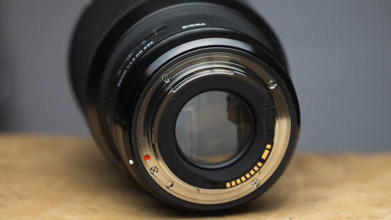 Sigma 85mm DG HSM ART Bajonett